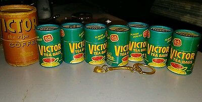 early RARE Antique vtg VICTOR tea and Coffee lot  boston  movie prop