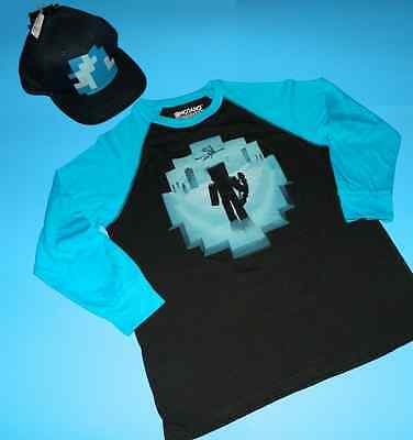 Minecraft LOT Tshirt LARGE Squid Hat FAST FREE SHIPPING JINX Authentic NEW