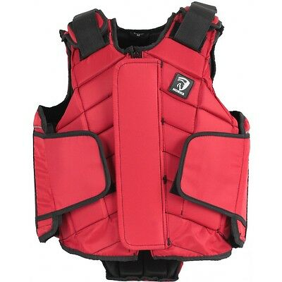 Childrens Red Flex Plus HORKA body protector Size Childs Large