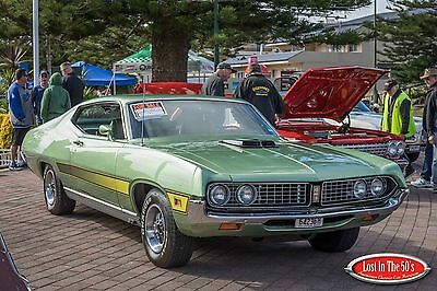 1971 Ford Gt Torino Coupe 351 Shaker . Auto.must See Muscle Car.