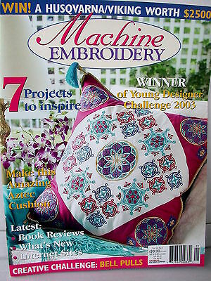 MACHINE EMBROIDERY  projects patterns tips techniques ideas    Vol  10  No 1