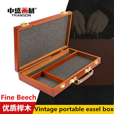 Free Shipping Fine Art Tabletop Wood Easel Box Painting Easel Box Art Supplies
