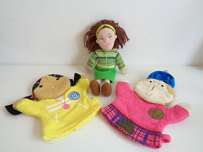 "Balamory - 9"" Miss Hoolie Soft Toy + 2 Wash Puppets"