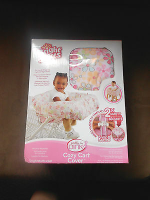 """New--""""bright Starts"""" Girls Cozy Cart Cover For Carts Or High Chairs. Nice Buy!!"""