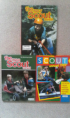 The Scout annuals 1987, 1988, 1989 Hardback