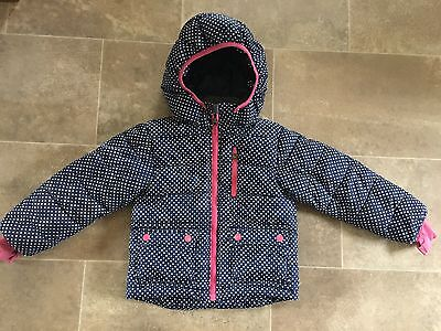Girls warm coat age 3-4