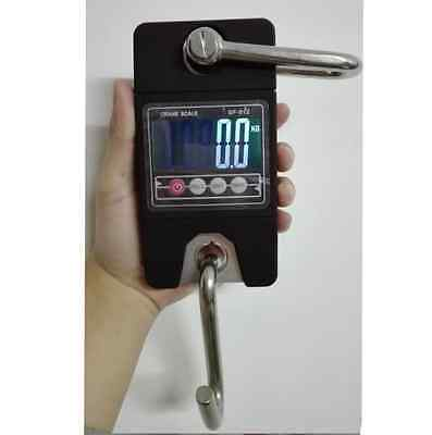 New 300kg/600lb Digital Hanging Scale Electronic Luggage Scale Crane scale