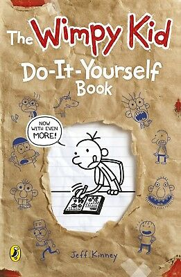 Diary of a Wimpy Kid: Do-It-Yourself Book by Jeff Kinney New