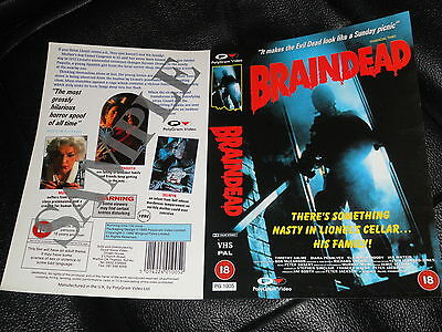 Sample  Vhs Cover ...braindead