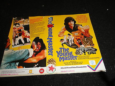 Pre Cert Very Rare Vhs  Cover ...,,the Young Master ...jackie Chan ..