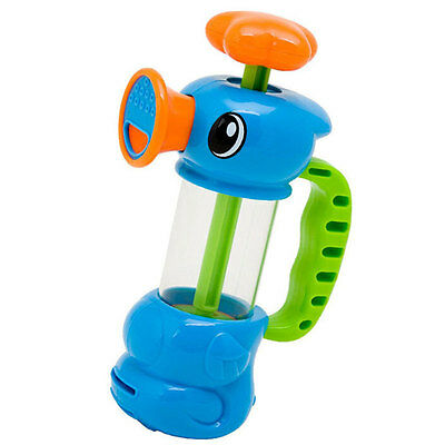 Colorful Shower Sea Horse Water Suction Pump Play Bath Toys For Kids Baby