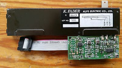 ALPS K fader 100MM 10KVCA Alice Soundtech series A with VCA control PCB THAT2180