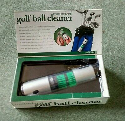 Motorized Golf Ball Cleaner by Perfect Solutions