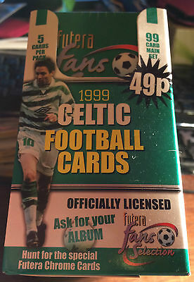 Box 48 Packs Of Celtic Football Club 1999 Fans Selection Cards By Futera Sale!!