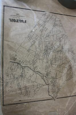 West Fulton/Schoharie County NY Map