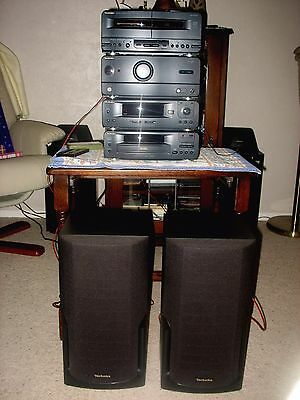Technics Stereo Hi-Fi System CH510 Speakers & Remote