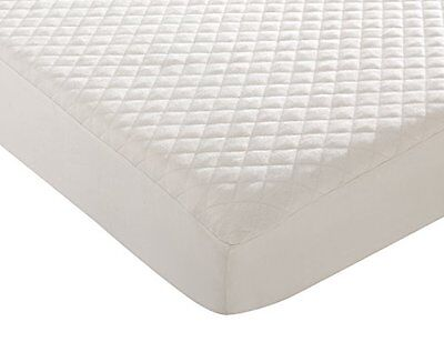 Premium Organic Cotton Waterproof Quilted Pack N Play Playard Mattress Pad Cover