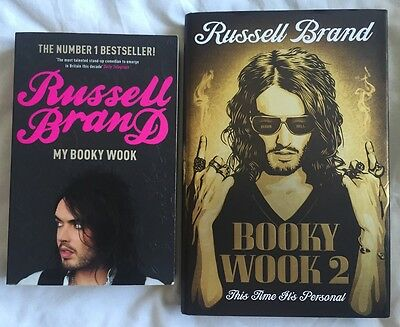 Russell Brand My Booky Wook 1&2, Very Good Condition
