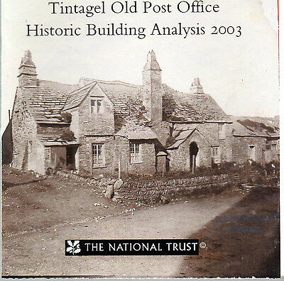 Tintagel Old Post Office Cornwall Historic Analysis 2003 National Trust