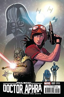 Star Wars Doctor Aphra #1 (2017) 1St Print Scarce 1:50 Charretier Variant Cover