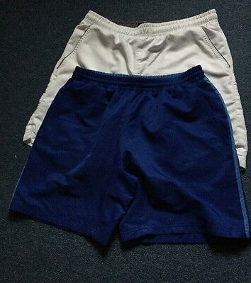 2Pairs Men's Dunlop Tennis Shorts Small