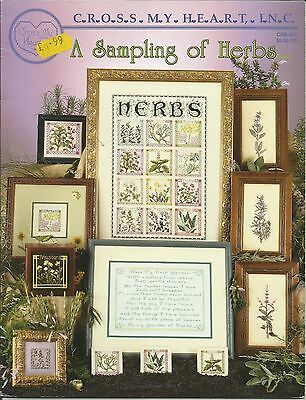 'A Sampling of Herbs' - Counted Cross Stitch Chart