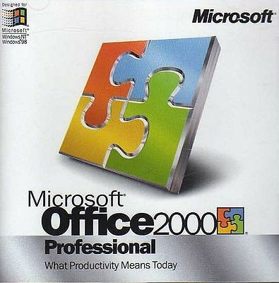 Microsoft Office 2000 Professional Full Version