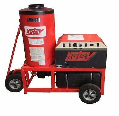Used Hotsy 1520 Hot Electric / Diesel 4GPM @ 3000PSI Pressure Washer