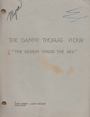 JOAN COLLINS  - DANNY THOMAS - Rare Original Script/Shooting Script & Photo C#69