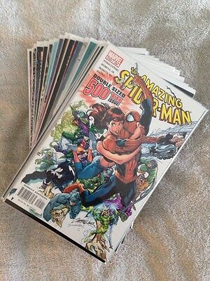 Amazing Spider-Man Lot Of 33 480-485,499-521,525-528 See Details For Grades