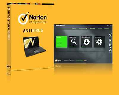 Genuine Norton Antivirus 2016 Latest Version 1 Pc 1 Year License Key By Email