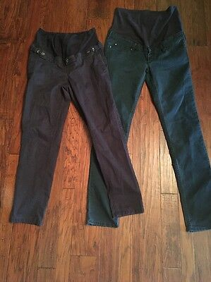 Lot Of Two H&M Maternity Pants/jeans