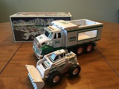 2008 Hess Truck Toy Truck and Front Loader