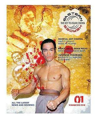 Bruce lee - Eastern Heroes Magazine - Issue No.1 - Signed SPECIAL CHRISTMAS OFFE