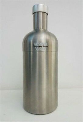 Perfect Oringinal Absolut Vodka Nirosta Cocktail Shaker 2 Pieces Stainless Steel