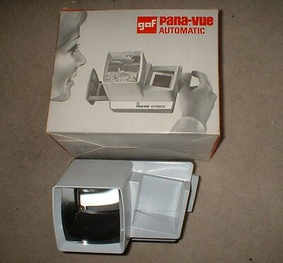 Vintage GAF Pana-Vue Automatic viewer with Box & Instructions