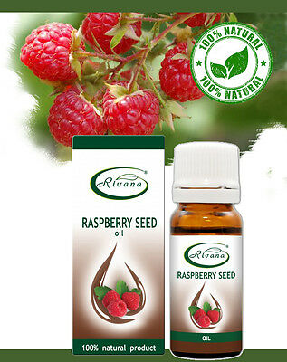 Pure Raspberry Seed Oil Cold pressed - 100% natural anti age moisturizer, 10ml