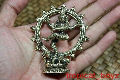 1 Kali the Destroyer Hindu Goddess God Brass Pendant Amulet
