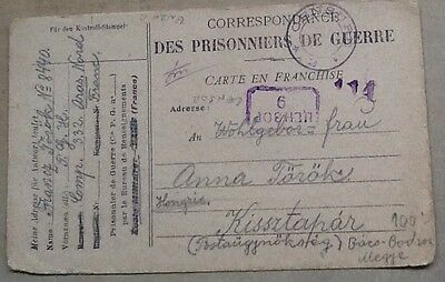 world covers ww1 hungarian pow france 1919