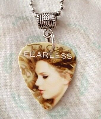 Taylor Swift Fearless Guitar Pick Necklace (Speak Now Red 1989)