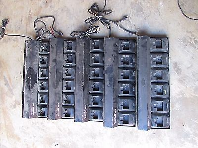 Kenwood multiple charger KMB 14 lot of 5 as is untested
