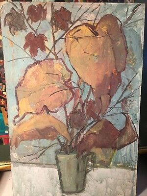 W Arnold Interesting Oil Painting German Artist ?? Signed