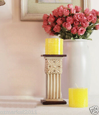 European Antique Style L10*W10*H20CM Resin Candlestick Holder/Candlestick