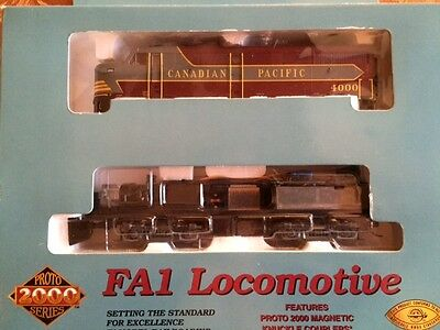Proto 2000 FA1 &FB1 CANADIAN PACIFIC Locomotives