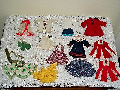 Vintage Doll Clothes Lot for Small Dolls Penny Brite Betsy Mccall & Others 1950s