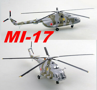 Easy Model 1/72 Russian Air Force MI-17 Based Tushing A Helicopter Plast #37047