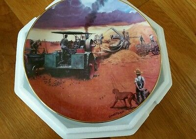 Beating the Storm Porcelain Collector Plate