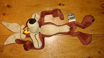 Warner Bros Looney Tunes Wile E Coyote Soft Toy .