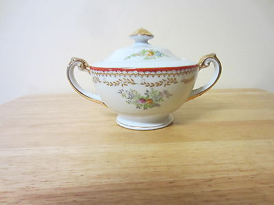 vintage wexford china sugar bowl with lid