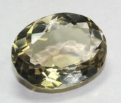 59.27 Ct Certified Natural Smoky Quartz Gemstone For Ring Oval Cut